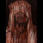 Sans titre - 2013 -  Sang et encre sur papier - 100 x 70 cm