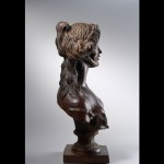 Sans titre – 2007 – bois de fer – 56 x 21 x 32 cm – collection privée Bruxelles